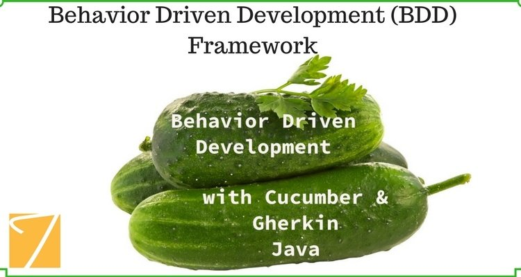Behavior Driven Development (BDD) Framework