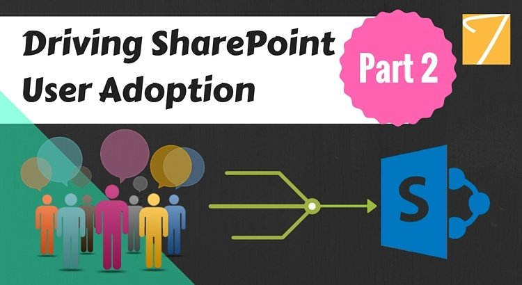 Driving SharePoint User Adoption [Part 2]