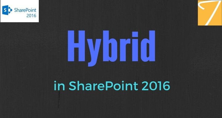 Hybrid in SharePoint 2016
