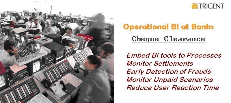 Operational BI at Banks