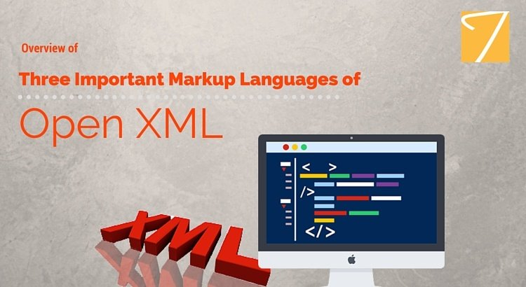Overview of Three Important Markup Languages of Open XML