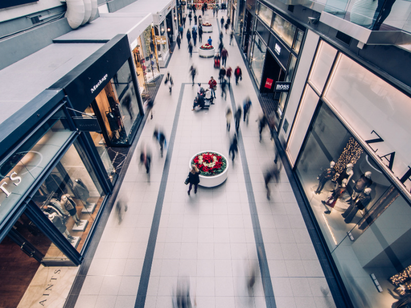 use of technology in retail stores