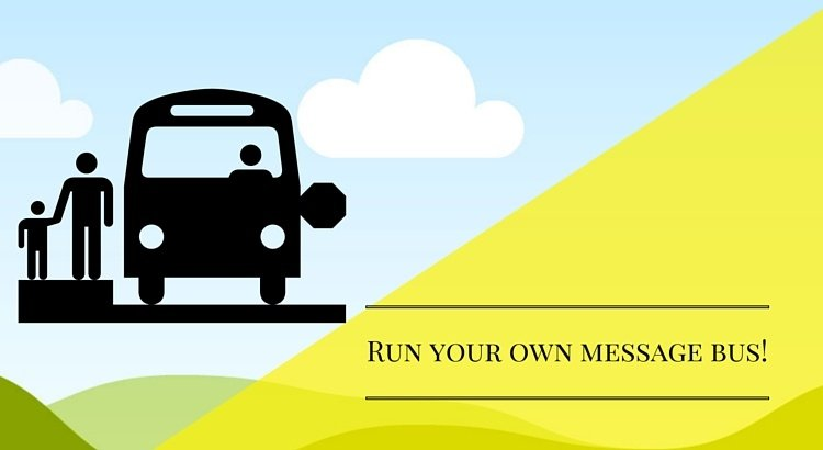 Run your own Message Bus to communicate between View, View models & Services