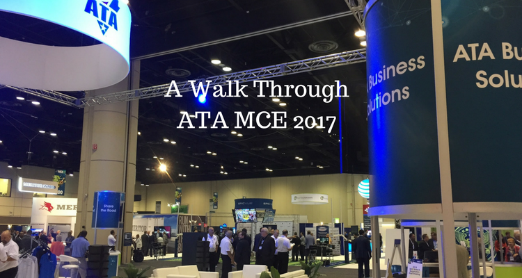 A walk through ATA MCE 2017