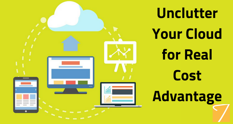 Unclutter Your Cloud for Real Cost Advantage